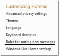 how to delete junk mail in windows live mail