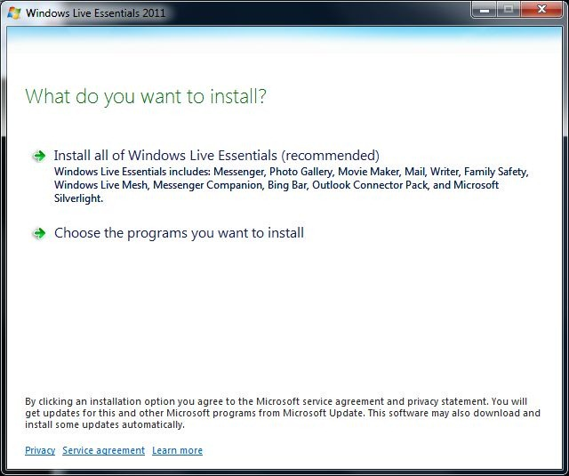Outlook Social Connector Provider for Windows Live Messenger