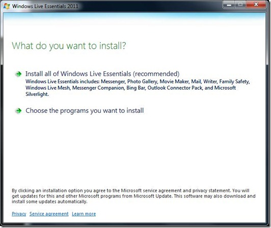 How To Install Windows Live Essentials 2011 The Field Guide